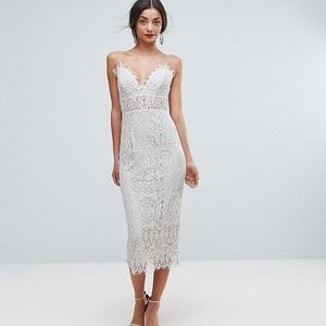 ASOS Lace Pencil Dress, Size 14
